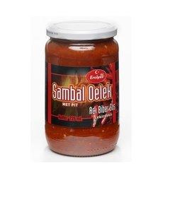 Turkse sambal met pit  hete peper (Erciyes-720 ml)