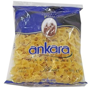 Turkse pasta- Ankara farfalle (Kelebek 500 gram)