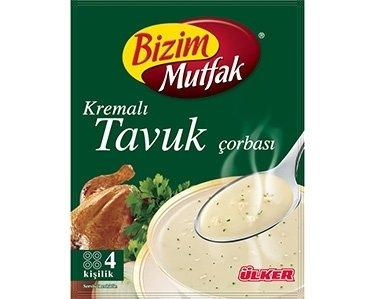 Turkse kippensoep van Ulker Bizim (Kremali Tavuk)